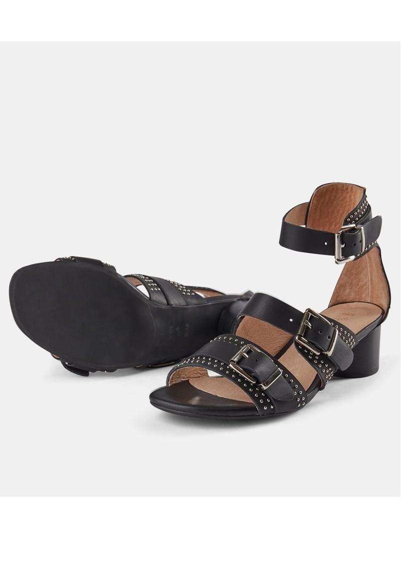 SHOE THE BEAR Aya Stud Sandals - Black main image