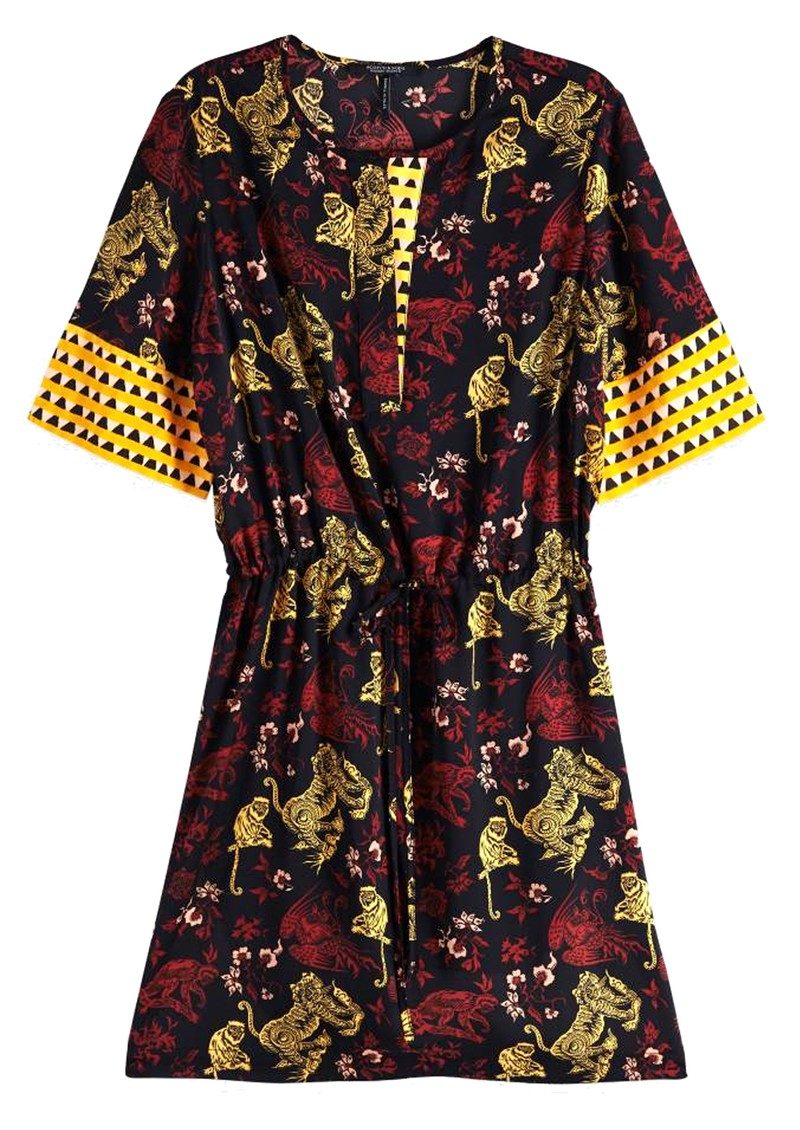 Maison Scotch Mixed Print Dress - Combo A main image