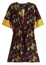 Maison Scotch Mixed Print Dress - Combo A