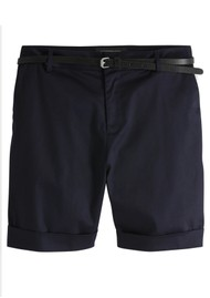 Maison Scotch Mercerised Chino Shorts - Night