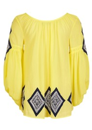 PK BERRY Lilith Blouse - Yellow