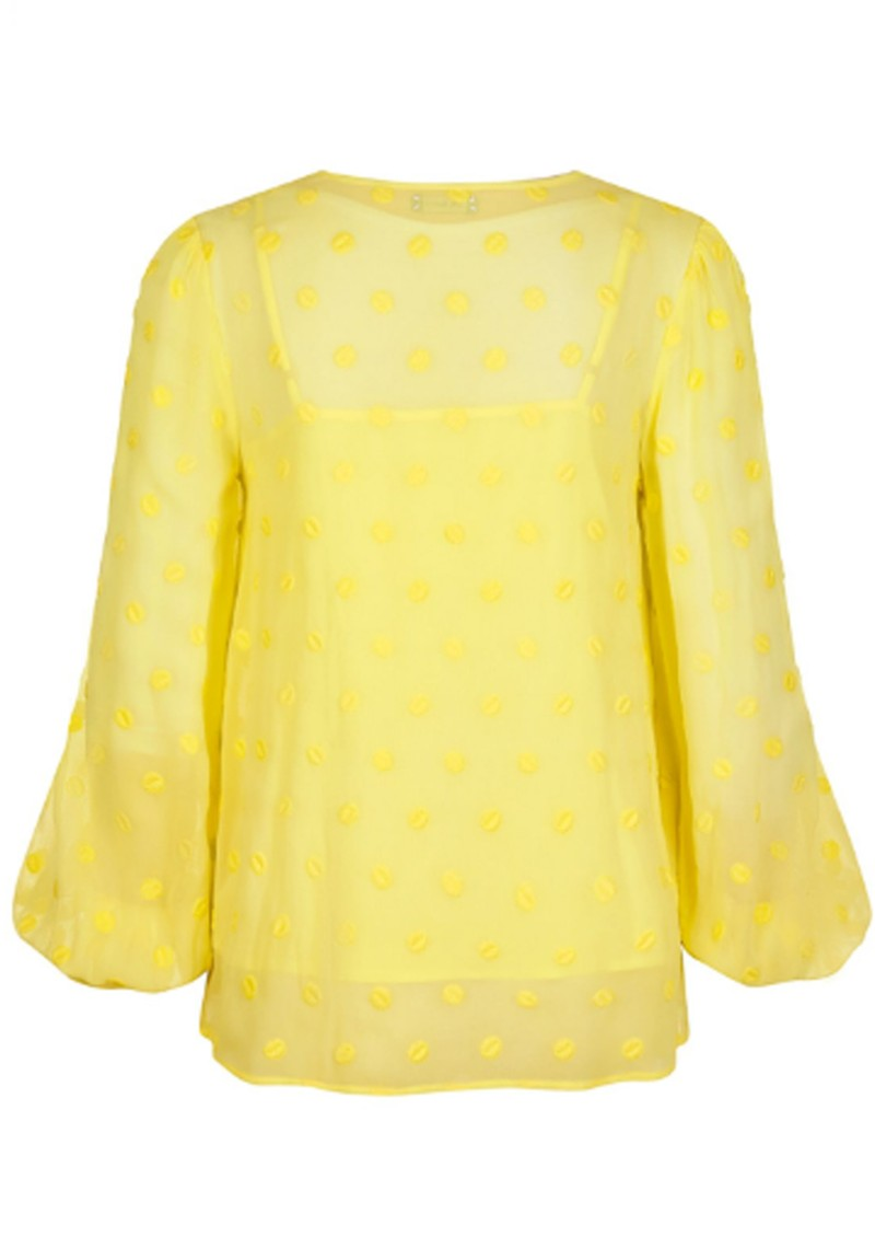 PK BERRY Augustina Blouse - Yellow main image