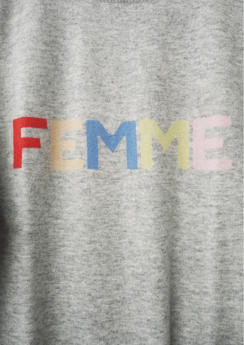 ORWELL + AUSTEN Femme Sweater - Grey Pastel main image