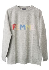 fa369763940 ORWELL + AUSTEN Femme Sweater - Grey Pastel
