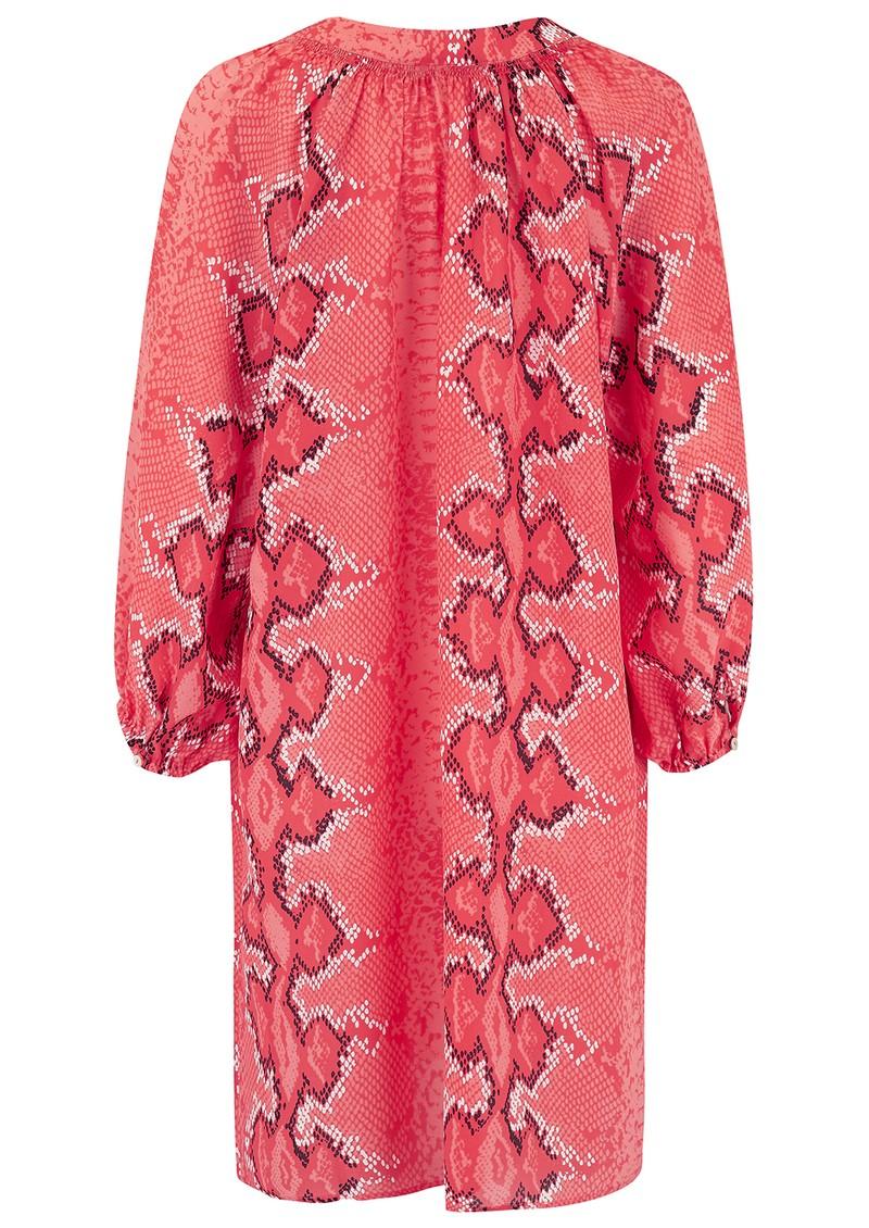 Mercy Delta Florence Silk Dress - Python Honeysuckle main image