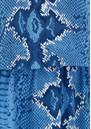 Mercy Delta Hembury  Dress - Python Bluebell