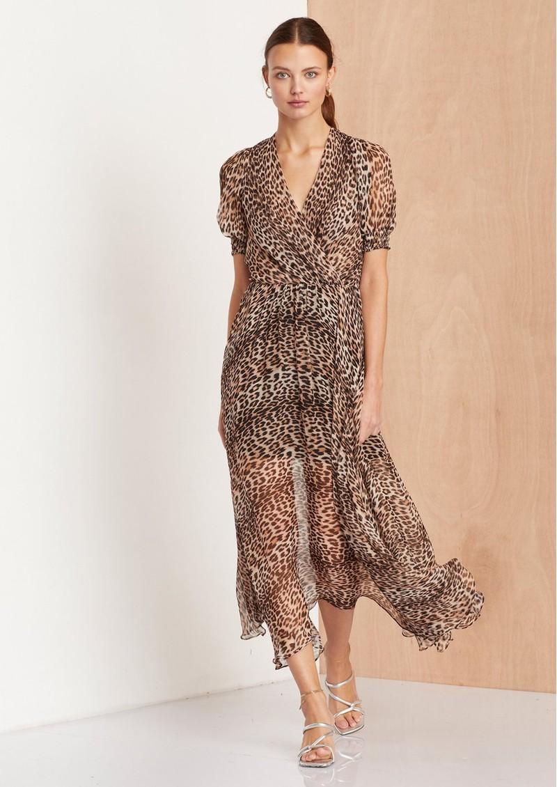 BEC & BRIDGE Kitty Kat Midi Dress - Leopard main image