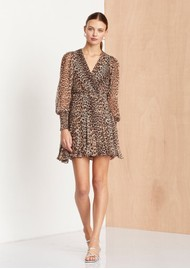 BEC & BRIDGE Kitty Kat Dress - Leopard