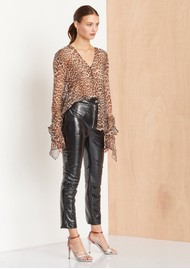 BEC & BRIDGE Kitty Kat Shirt - Leopard