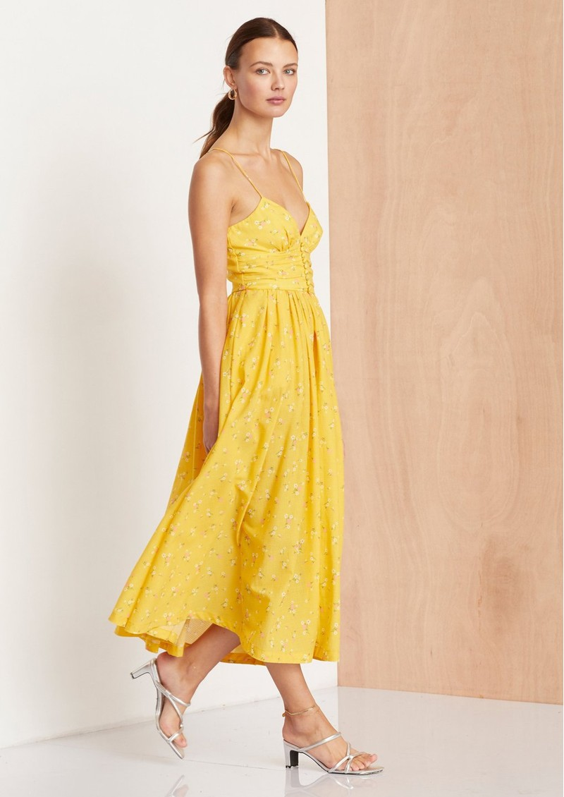 BEC & BRIDGE Marigold Fields Midi Dress - Marigold main image