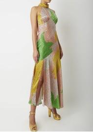 DE LA VALI Vivienne Midi Dress - Havana