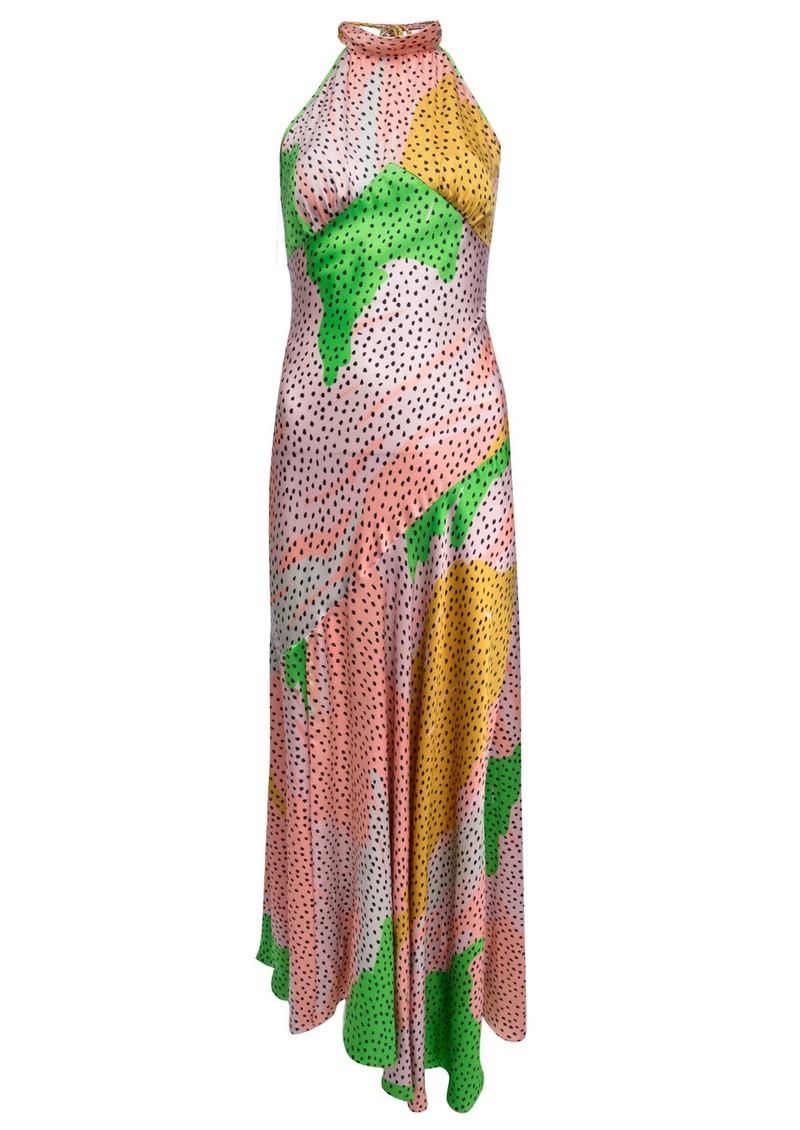 DE LA VALI Vivienne Midi Dress - Havana main image