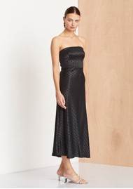 BEC & BRIDGE Dottie Ray Strapless Dress - Black