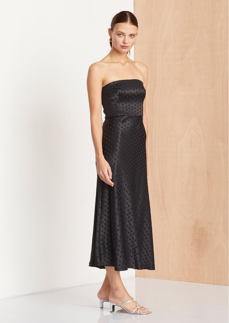 BEC & BRIDGE Dottie Ray Strapless Dress - Black main image