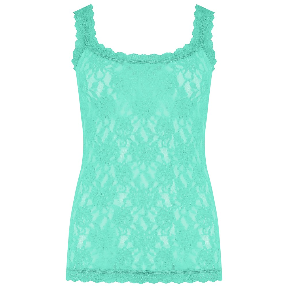 Unlined Lace Cami - Agave Green