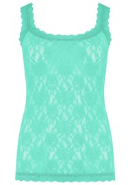 Hanky Panky Unlined Lace Cami - Agave Green