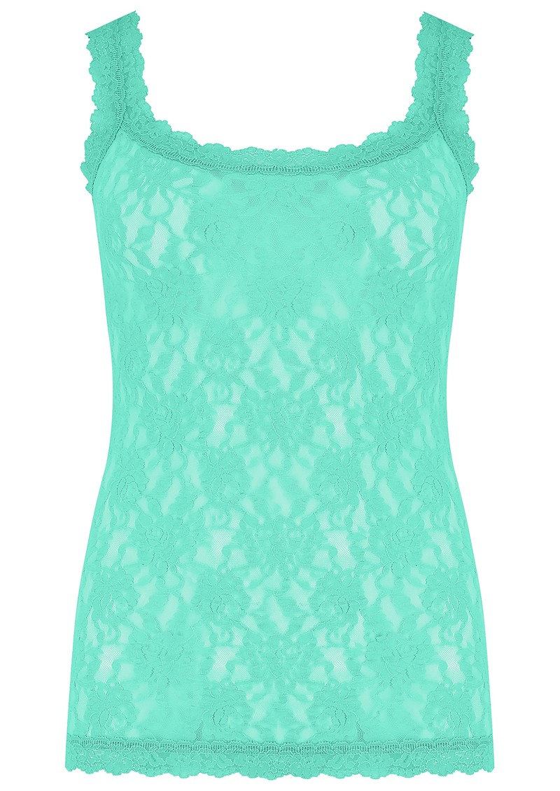 Hanky Panky Unlined Lace Cami - Agave Green main image