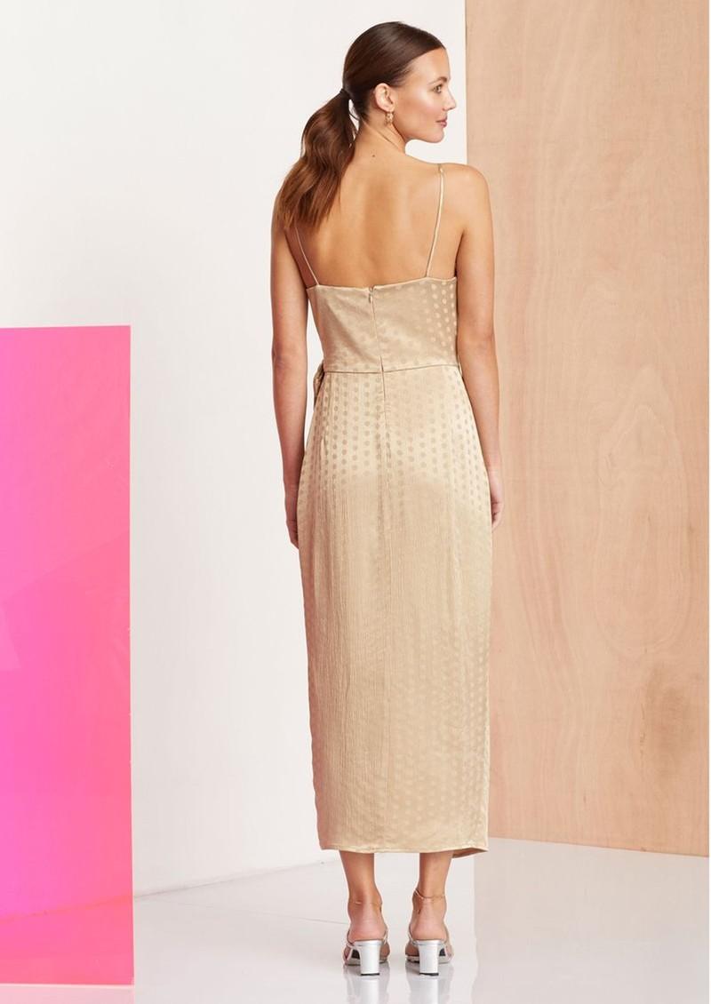 BEC & BRIDGE Dottie Ray Wrap Dress - Latte main image
