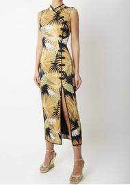 DE LA VALI Jean Dress - Black Palm
