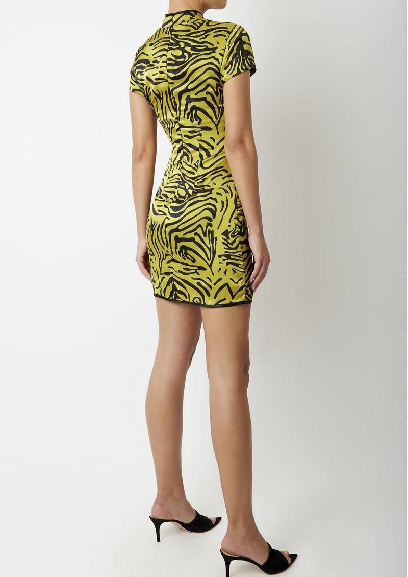 DE LA VALI Suki Short Dress - Tiger main image