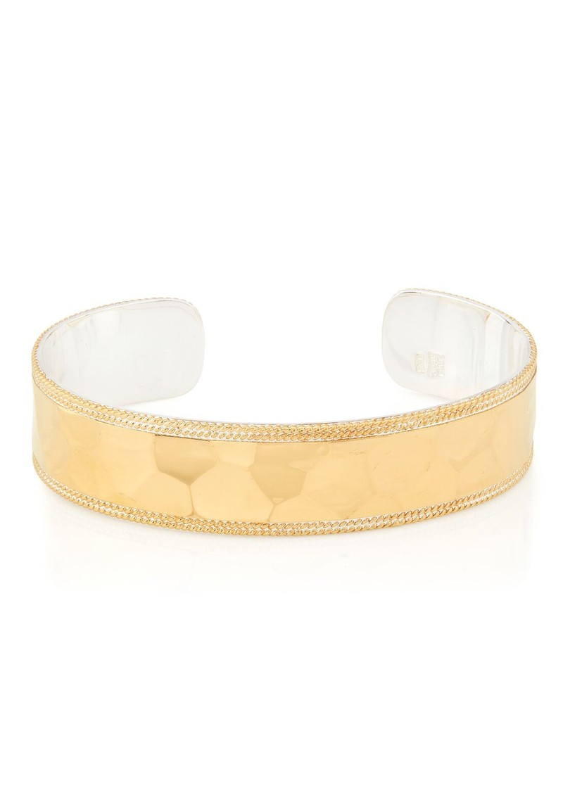 ANNA BECK Pacifica Hammered Cuff - Gold main image