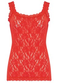 Hanky Panky Unlined Lace Cami - Fiery Red