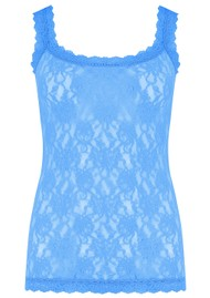 Hanky Panky Unlined Lace Cami - Laguna Blue