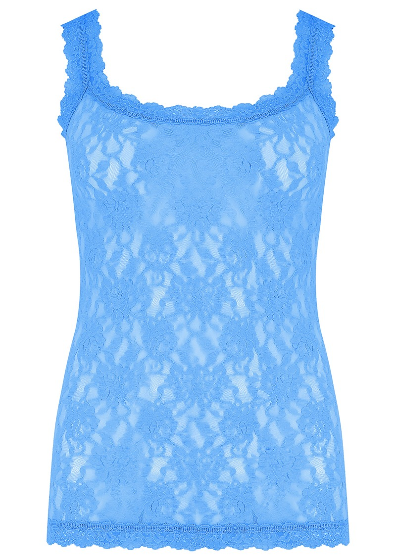 Unlined Lace Cami - Laguna Blue main image