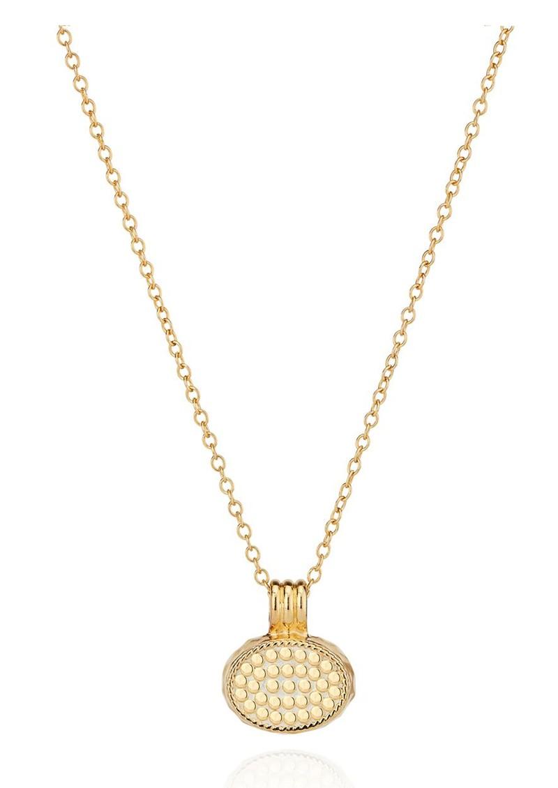 ANNA BECK Pacifica Small Labradorite Pendant Necklace - Gold main image