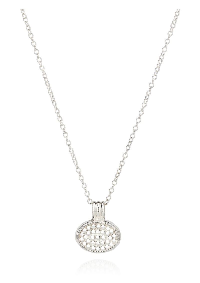 ANNA BECK Pacifica Small Labradorite Pendant Necklace - Silver main image