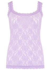 Hanky Panky Unlined Lace Cami - Lavender Sachet