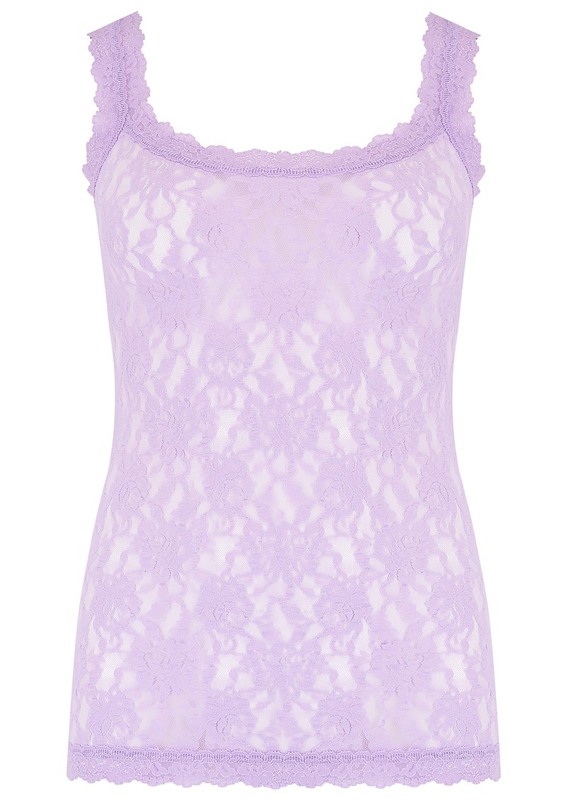 Hanky Panky Unlined Lace Cami - Lavender Sachet main image