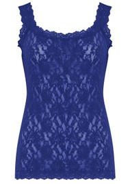 Hanky Panky Unlined Lace Cami - Midnight Blue