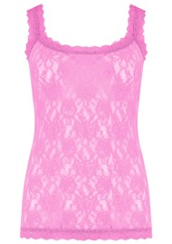 Hanky Panky Unlined Lace Cami - Raspberry Ice