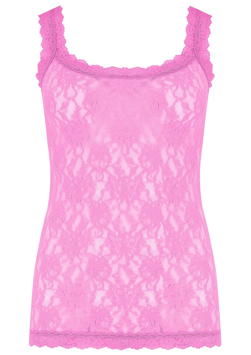 Hanky Panky Unlined Lace Cami - Raspberry Ice main image
