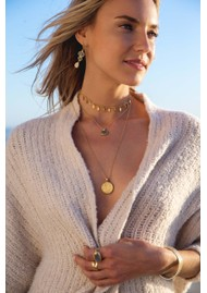 ANNA BECK Pacifica Labradorite Multi Stone Drop Earrings - Silver