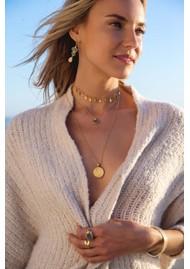ANNA BECK Pacifica Labradorite Multi Stone Drop Earrings - Gold