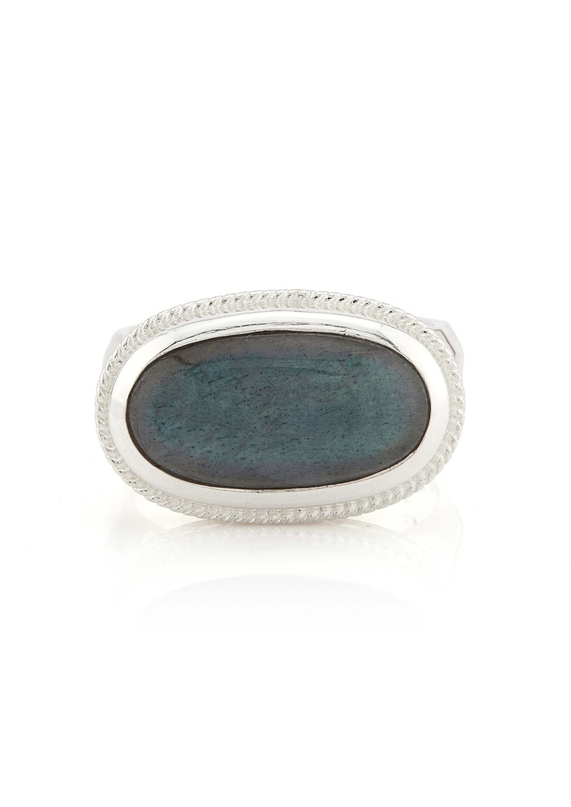ANNA BECK Pacifica Labradorite Cocktail Ring - Silver main image