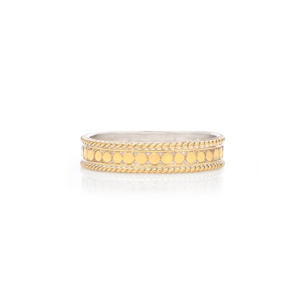 Dotted Stacking Ring - Gold
