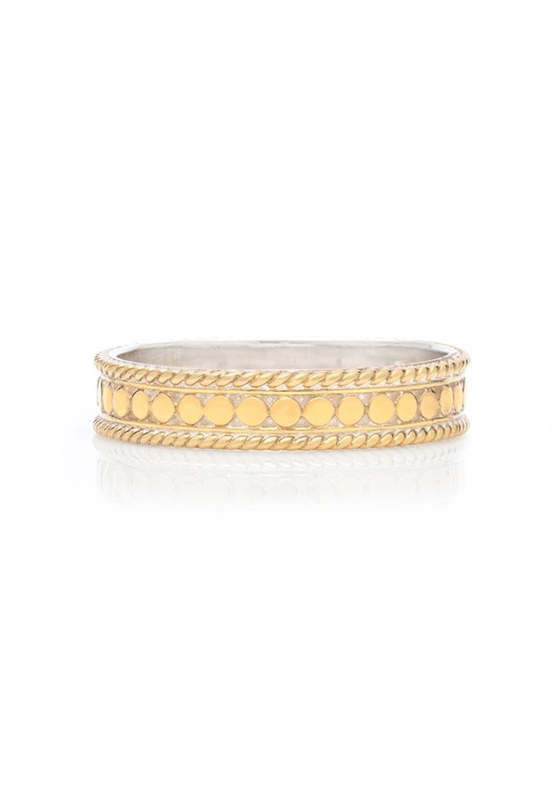 ANNA BECK Dotted Stacking Ring - Gold main image
