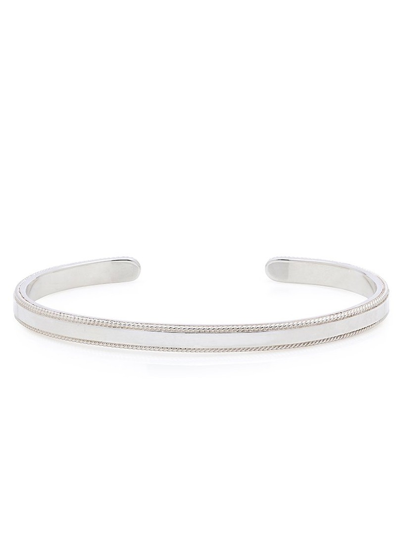 ANNA BECK Smooth Stacking Cuff - Silver main image