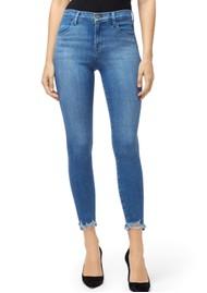 J Brand Alana High Rise Cropped Skinny Jeans - True Love Destruct