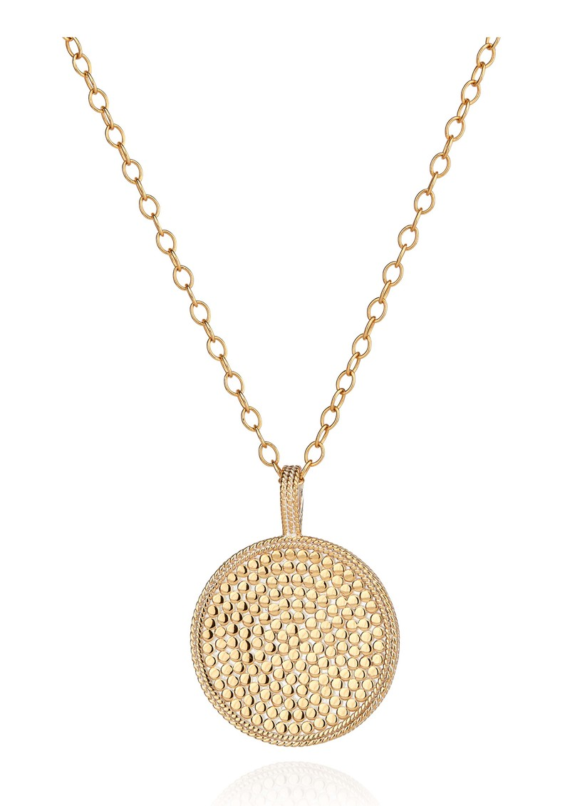 ANNA BECK Morning Glory Guava Pendant Necklace - Gold main image