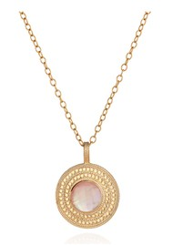 ANNA BECK Morning Glory Guava Pendant Necklace - Gold