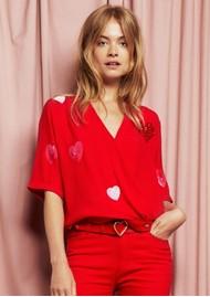 FABIENNE CHAPOT Sophie Show Top - Romance Red
