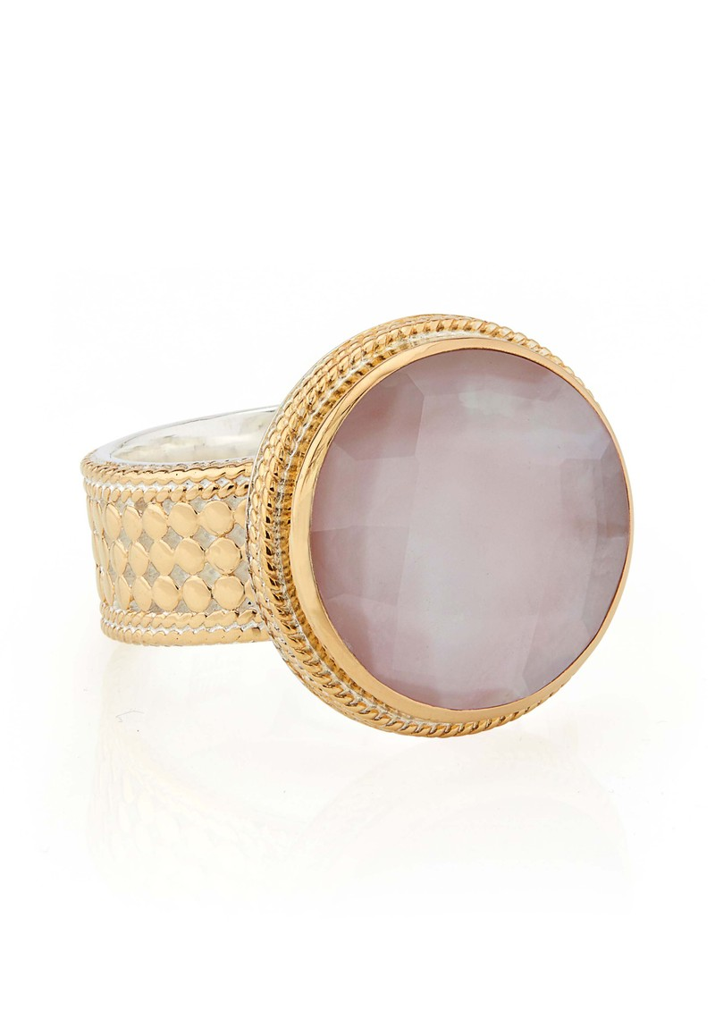 ANNA BECK Morning Glory Guava Cocktail Ring - Gold main image