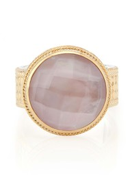 ANNA BECK Morning Glory Guava Cocktail Ring - Gold
