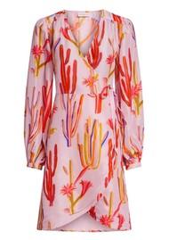 FABIENNE CHAPOT Ema Clio Wrap Dress - Sahara Cactus