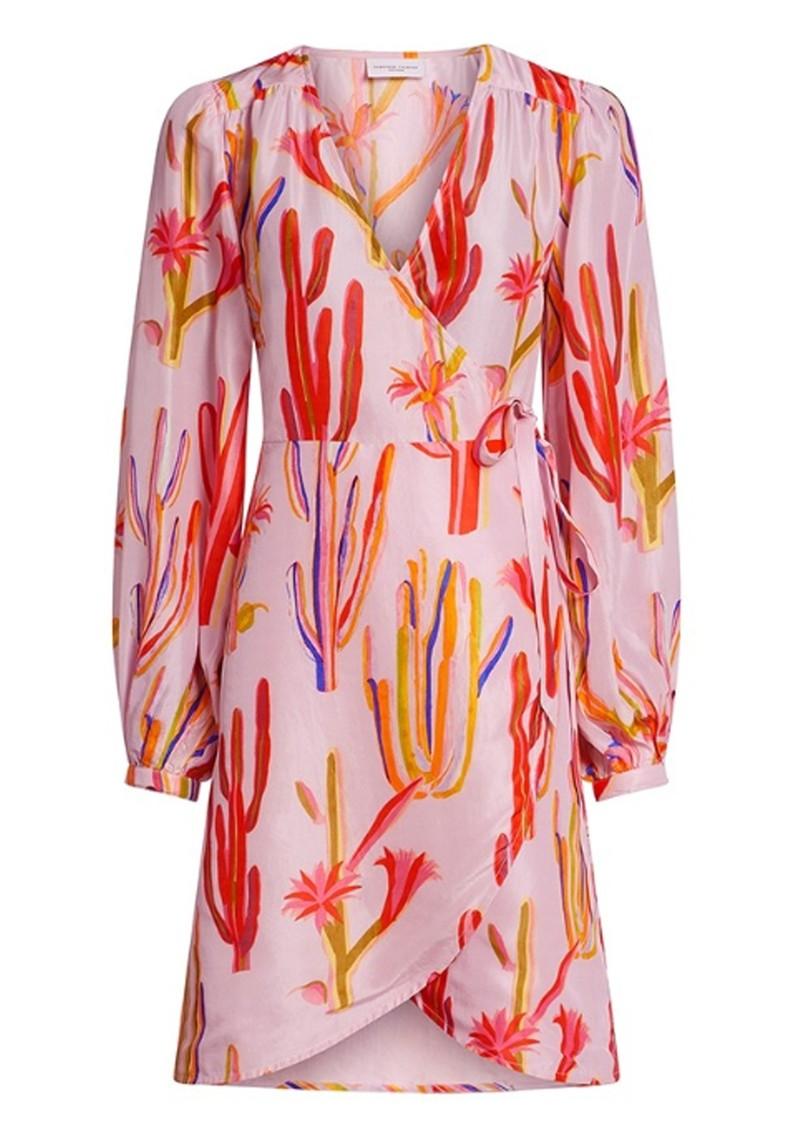 FABIENNE CHAPOT Ema Clio Wrap Dress - Sahara Cactus main image