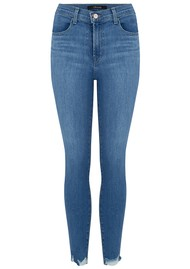 J Brand Alana High Rise Cropped Skinny Jeans - True Love Destruct